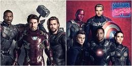 Nếu 'Avengers: Infinity War' được quay vào thập niên 90, ta sẽ có một dàn diễn viên đỉnh của đỉnh!