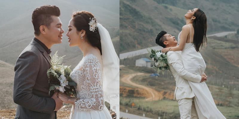 yan.vn - tin sao, ngôi sao - Ảnh cưới ngọt ngào của ca sĩ Lâm Vũ và bà xã Hoa hậu