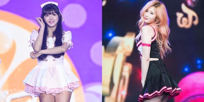yan.vn - tin sao, ngôi sao - Tưởng váy ngắn hớ hênh là chiêu trò của idol vô danh, thế nhưng idol hàng top vẫn mặc triệt để