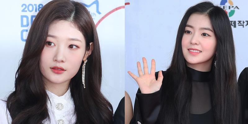 yan.vn - tin sao, ngôi sao - Thảm đỏ Dream Concert 2018: Cả 2 nữ thần Chaeyeon - Irene đều gây thất vọng vì gu ăn mặc nhàm chán