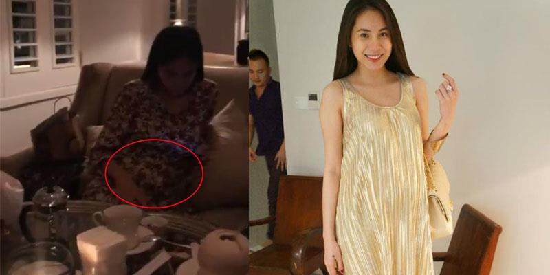 yan.vn - tin sao, ngôi sao - Thuỷ Tiên bất ngờ lộ vòng 2 lùm lùm bất thường, nghi vấn mang thai lần 2?