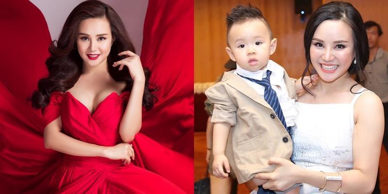 yan.vn - tin sao, ngôi sao - Vy Oanh lập hẳn một kênh youtube thiếu nhi mang tên con trai mình