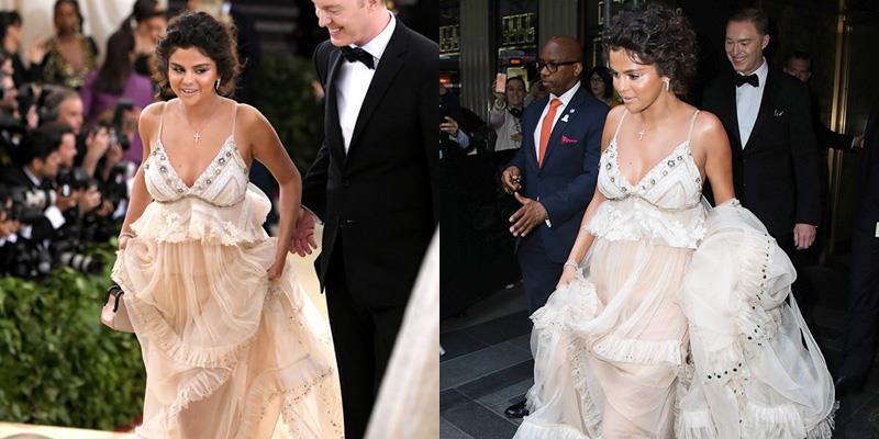 yan.vn - tin sao, ngôi sao - Selena Gomez tham dự Met Gala với phong cách lùm xùm trông như bà bầu