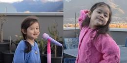 Bé 4 tuổi lai Thụy Sĩ nói năng còn lọng ngọng cover 'Túy âm' với thần thái siêu dễ thương