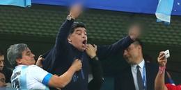 Maradona bị FIFA tuýt còi sau hành động giơ 'ngón tay thối' đầy phản cảm