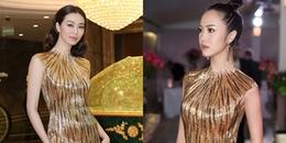Sau ồn ào với Trường Giang, Khánh My diện lại váy cũ của Vũ Ngọc Anh đi sự kiện