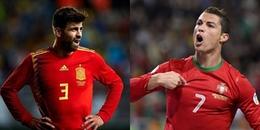 Những điểm nóng quyết định đại chiến Bồ Đào Nha - Tây Ban Nha: Pique 'khiếp sợ' Ronaldo