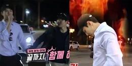 Khoảnh khắc dễ thương: Sehun và Suho (EXO) nổi cáu vì xe hỏng khi đi du lịch ở Mỹ