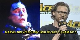 Tom Hiddleston tiết lộ bí mật về cái chết của Loki, dập tắt hy vọng của fan là nhân vật này còn sống