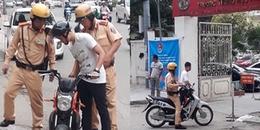 Hà Nội: Đang đi thi THPT bỗng xe đạp điện bị hỏng, nam sinh gặp cái kết bất ngờ