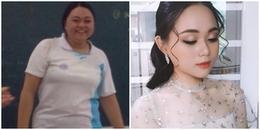 Hành trình lột xác ngoạn mục của cô bạn giảm gần 40kg trong vòng 9 tháng