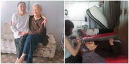 2 cụ bà 90 tuổi vẫn thích đắp mặt nạ, ra tiệm gội đầu và ngâm thơ dành tặng con cháu