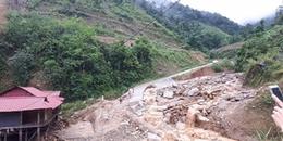 Lai Châu: 8 học sinh chưa thể dự kỳ thi THPT 2018 vì mưa lũ chia cắt