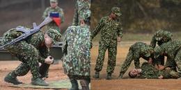 Hoàng Tôn đọc khẩu hiệu 16 lần, Bảo Kun ngất xỉu trên đường chạy trong quân ngũ