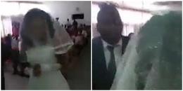 Màn trả thù đỉnh nhất năm: Cô gái hoá thành cô dâu lộng lẫy đến tham dự lễ cưới của người yêu cũ