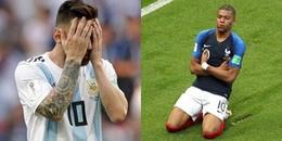 CHÙM ẢNH: Lionel Messi cúi đầu trước sự xuất sắc của SIÊU SAO Kylian MBappe