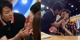 Fan Kpop rụng tim trước cảnh Donghae bất ngờ 'cưỡng hôn' Heechul trên show thực tế