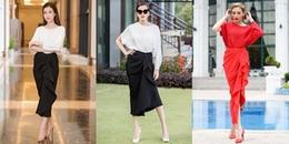Bộ váy của Tăng Thanh Hà có gì hot mà loạt mỹ nhân Việt mê mệt thế này