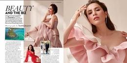 Đây là Hoa hậu Việt đầu tiên được vinh danh trên tạp chí Vogue Thái Lan