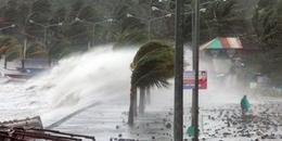 Áp thấp nhiệt đới có khả năng mạnh lên thành cơn bão số 2