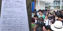 Nóng: Cập nhật đáp án đề thi môn Toán học kì thi THPT Quốc gia 2018