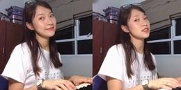 """Sau """"Người âm phủ"""", hot girl 7 thứ tiếng Khánh Vy lại khiến CĐM dậy sóng với clip cover """"Bùa yêu"""""""