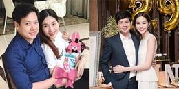 yan.vn - tin sao, ngôi sao - Hoa hậu Đặng Thu Thảo bất ngờ khoe con gái trong ngày sinh nhật ông xã đại gia