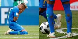 Hưởng lương cao nhất thế giới, vì sao Neymar lại ra sân với đôi tất rách tại World Cup 2018?