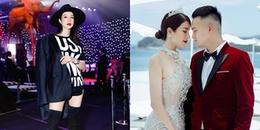 Diệp Lâm Anh diện đồ khéo che bụng bầu 4 tháng đi xem thời trang