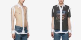 Cộng đồng mạng sốc với chiếc áo xuyên thấu 'mặc như không' có giá 25 triệu đồng