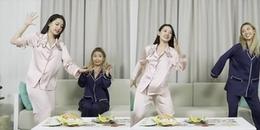 Chi Pu hào hứng hướng dẫn Quỳnh Anh Shyn nhảy 'Đóa Hoa Hồng' siêu dị