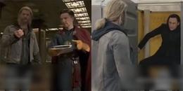 Phân cảnh được thay thế trong Thor 3, Loki bị Dr.Strange nhốt vào nhà vệ sinh