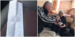 Nghẹn ngào trước tình yêu vĩnh cửu của cụ ông làm thơ tặng cụ bà trước khi qua đời