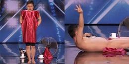 Nóng mắt với thí sinh khỏa thân ngay trên sóng truyền hình America's Got Talent