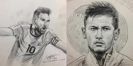 Chàng họa sĩ 'tiên tri' mùa World Cup 2018: Vẽ cầu thủ của đội tuyển nào, đội đấy... thua