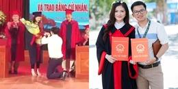 CĐM 'phát hờn' với cô kỹ sư vừa nhận 2 bằng tốt nghiệp, vừa được bạn trai cầu hôn ngay trên sân khấu