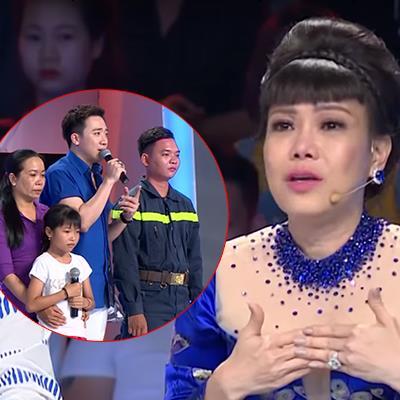 Việt Hương bật khóc khi gặp lại chiến sĩ PCCC từng giải cứu bé gái 7 tuổi kẹt dưới khe giếng sâu