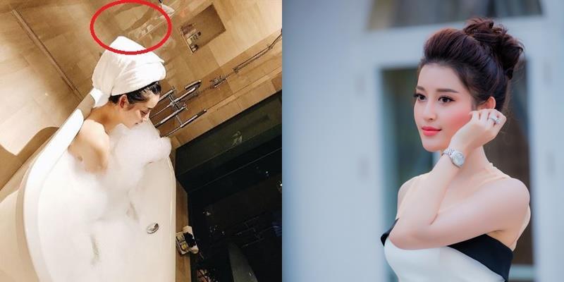 yan.vn - tin sao, ngôi sao - Bị soi ảnh người đàn ông trong phòng tắm, Á hậu Huyền My nói gì?