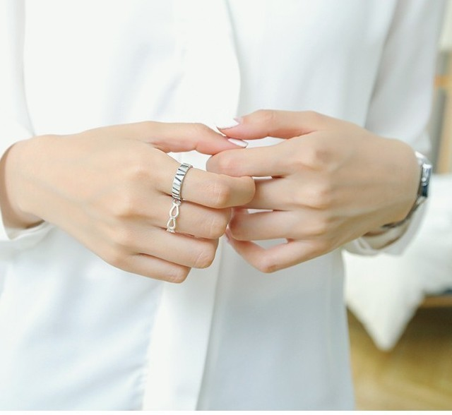 Source: www.pinterest.com #13 – Nhẫn bạc cực đẹp