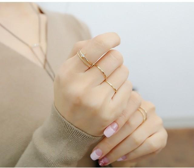 Source: www.pinterest.com #8 – Các kiểu nhẫn mảnh cực đẹp
