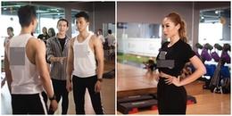 """""""Giấu"""" nghề lâu nay, BB Trần quyết định đi dạy catwalk cùng siêu mẫu Khánh Ngọc"""