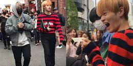 yan.vn - tin sao, ngôi sao - Lee Daehwi (Wanna One) được tạp chí thời trang mời làm người mẫu ngay trên đường phố Nhật Bản