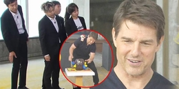 Fan bất ngờ khi thấy Tom Cruise, Henry Cavill cực nhắng nhít chơi trò đâm cướp biển tại Running Man