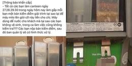 Rạp phim Lotte ở Sài Gòn lên tiếng sau sự cố để máy bán sữa lúc nhúc giòi