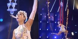 Trình diễn tiết mục xiếc cực nguy hiểm, nữ nghệ sỹ Việt Nam vẫn bị loại khỏi America's Got Talent