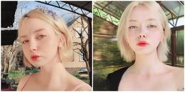 """Cư dân mạng """"xao xuyến"""" trước vẻ đẹp trong trẻo, cực kì dịu dàng của hot girl Nga"""