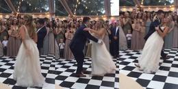 Điệu nhảy siêu cute của cô dâu chú rể thu hút hơn 7 triệu lượt xem từ CĐM