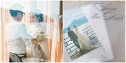 yan.vn - tin sao, ngôi sao - Cận cảnh thiệp cưới độc đáo của Á hậu Tú Anh và ông xã thiếu gia