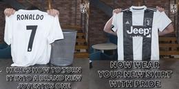 Đừng quẳng áo CR7 tại Real đi, vì bạn có thể biến nó thành áo Juventus chỉ sau vài nốt nhạc