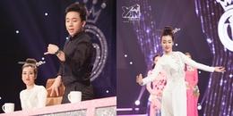 Hoa hậu Đỗ Mỹ Linh tháo giày, múa đương đại khiến Trấn Thành 'ngơ ngác'